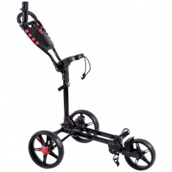 Exquisite Folding Golf Cart  with Adjustable Push Handle