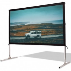 """100"""" Standing Portable Fast Folding Projector Screen w/ Carry Bag"""