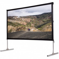 """120"""" Standing Portable Fast Folding Projector Screen w/ Carry bag"""