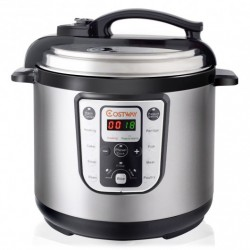 1250W 8 quart Programmable Stainless Steel Electric Pressure Cooker