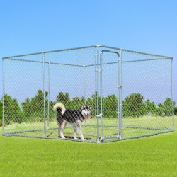 10' x 10' Large Pet Dog Run House Kennel