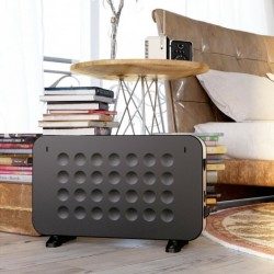 1500 W 2 Modes Wall Mounting Portable Convector Space Heater with Quiet Stand Base