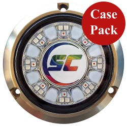 Shadow- Caster SCR-24 Bronze Underwater Light - 24 LEDs - Full Color Changing - *Case of 4*