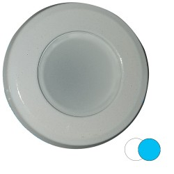 Shadow-Caster 2-Color Blue/White Dimmable White Powder Coat Down Light