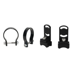 """RIGID Industries 1"""" Bar Clamp f/RDS-Series Curved Lights - Black"""