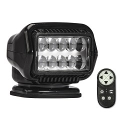 Golight Stryker ST Series Portable Magnetic Base Black LED w/Wireless Handheld Remote