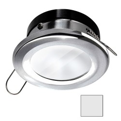 i2Systems Apeiron A1110Z - 4.5W Spring Mount Light - Round - Cool White - Brushed Nickel Finish