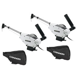Cannon Optimum™ 10 Tournament Series (TS) BT Electric Downrigger 2-Pack w/Black Covers