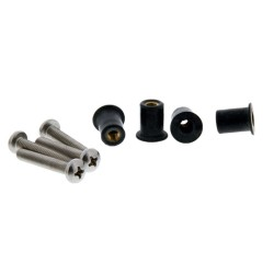 Scotty 133-4 Well Nut Mounting Kit - 4 Pack
