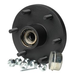 """C.E. Smith Trailer Hub Kit - Tapered Spindle - 6 x 5.5"""" Stud - 1,750lb Capacity"""